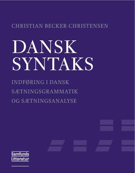 Image of   Dansk syntaks (E-bog)