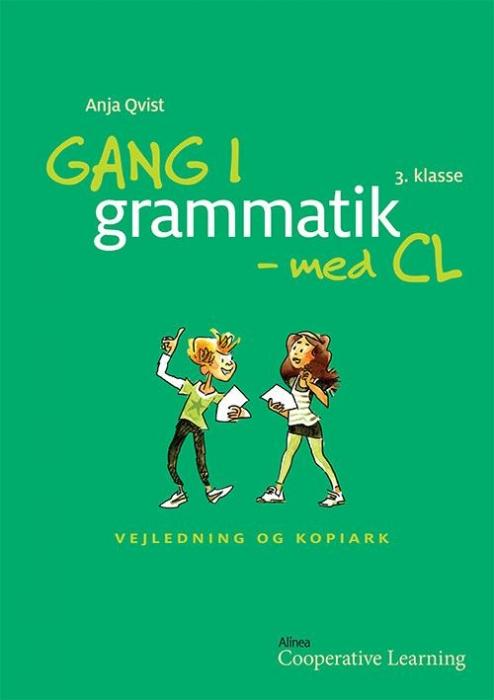 Image of Gang i grammatik - med CL, 3. klasse. Vejledning og kopiark (Bog)
