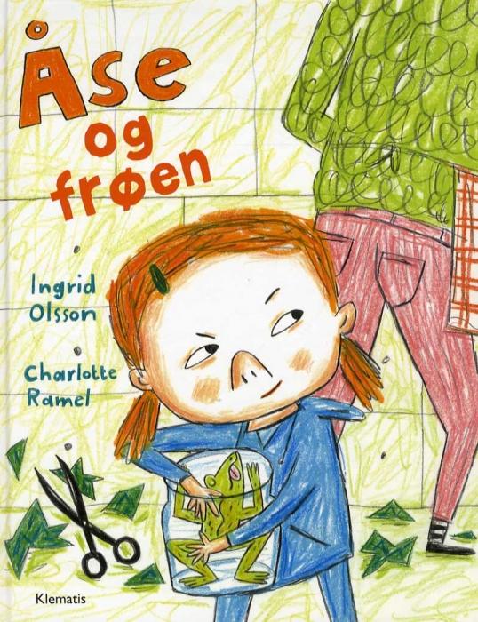 Image of   Åse og frøen (Bog)