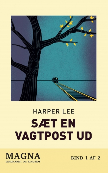 Image of   Sæt en vagtpost ud (storskrift) (Bog)