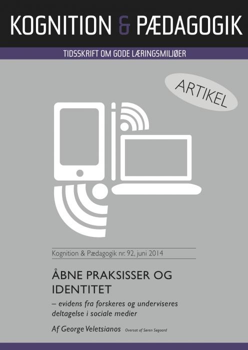 Image of   Åbne praksisser og identitet (E-bog)