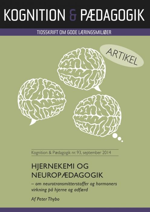 Hjernekemi og neuropædagogik (E-bog)