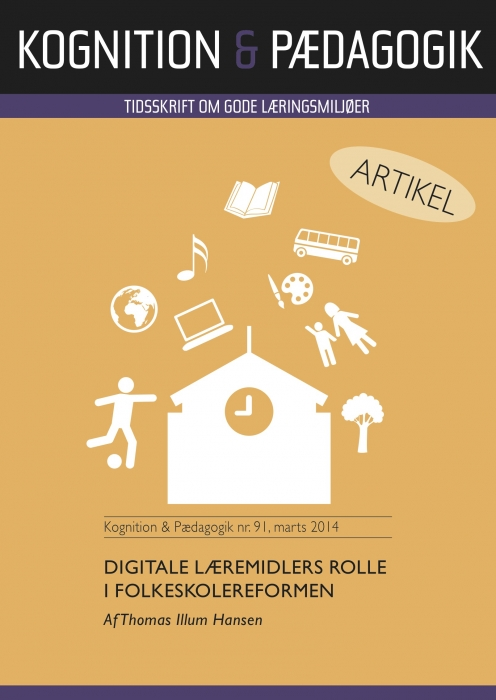 Digitale læremidlers rolle i folkeskolereformen (E-bog)