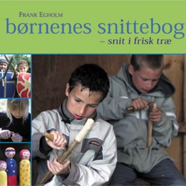 Image of   børnenes snittebog (Bog)