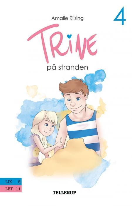 Image of Trine #4: Trine på stranden (E-bog)