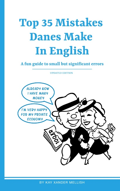 Top 35 Mistakes Danes Make in English (Bog)