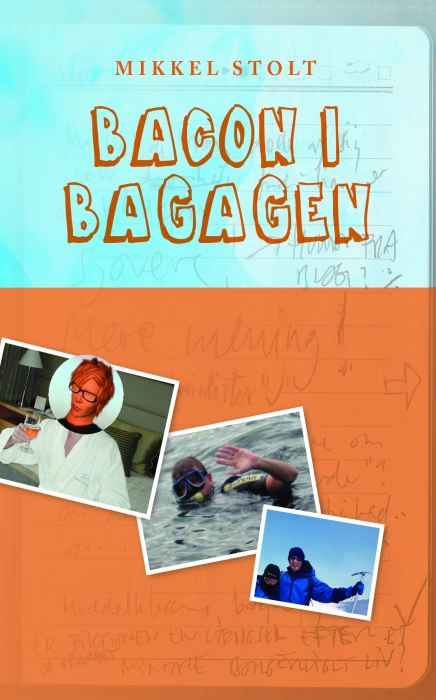 Image of   Bacon i bagagen (Bog)