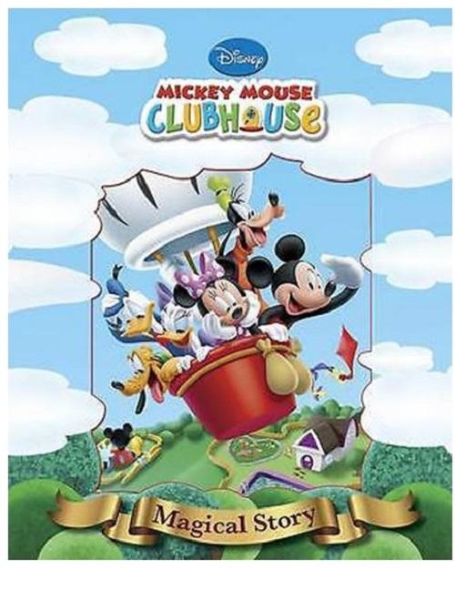 Disney Magiske Historier - Mickeys Klubhus (Bog)