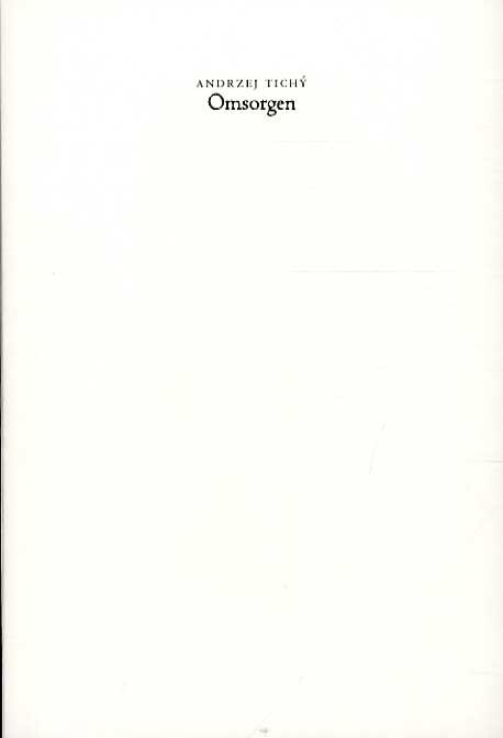Image of Omsorgen (Bog)