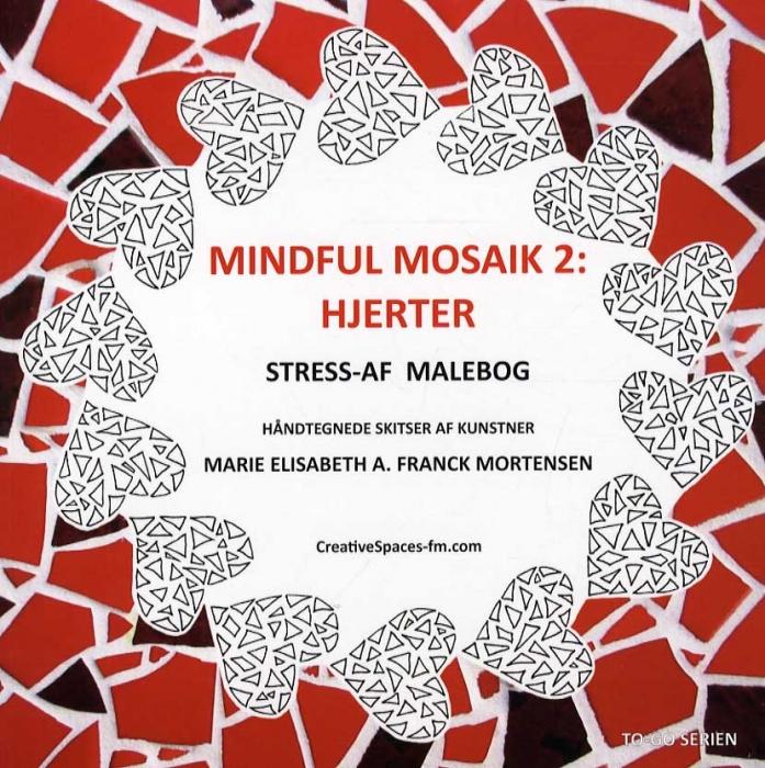 Image of   Mindful mosaik 2: Hjerter (Bog)