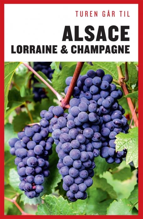 Turen går til Alsace, Lorraine & Champagne (Bog)