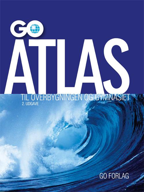 GO Atlas til overbygningen og gymnasiet - 2. udgave (Bog)