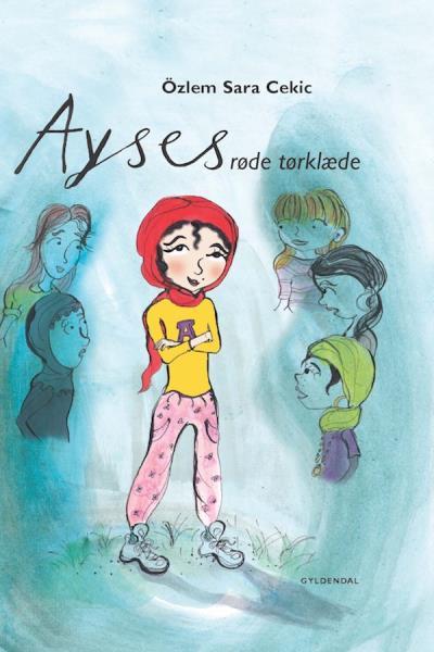 Image of Ayses røde tørklæde (Lydbog)