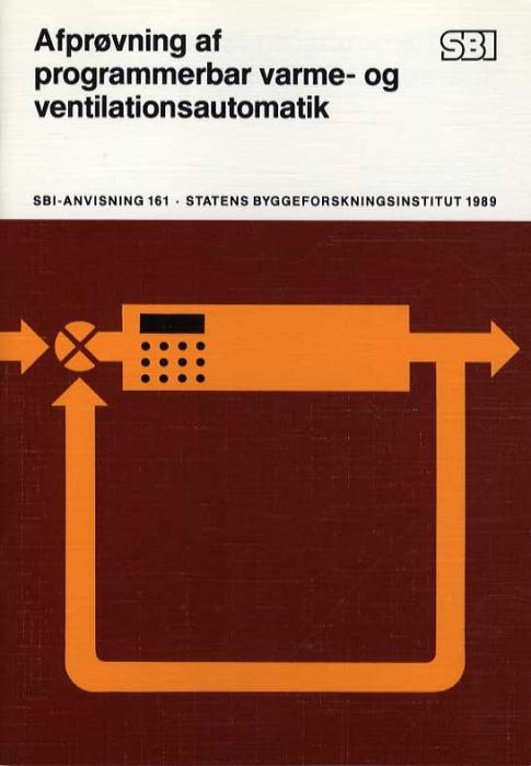 Image of   Afprøvning af programmerbar varme- og ventilationsautomatik (Bog)