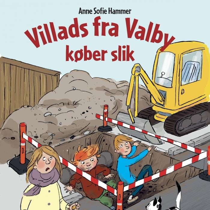 Image of Villads fra Valby køber slik (Lydbog)