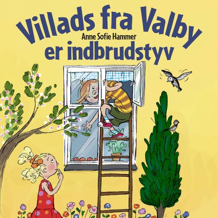 Image of Villads fra Valby er indbrudstyv (Lydbog)