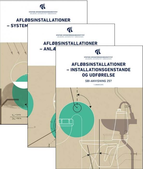 Image of   Afløbsinstallationer - Samlet - Studieudgave (Bog)