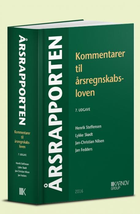 Image of   Årsrapporten. Kommentarer til årsregnskabsloven (Bog)