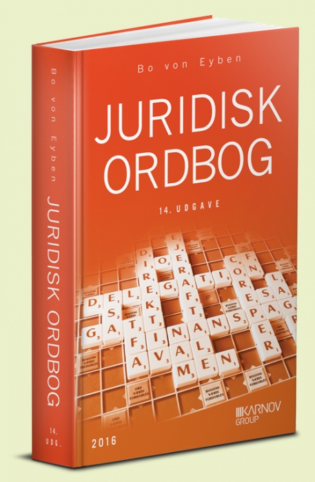 Juridisk ordbog (Bog)