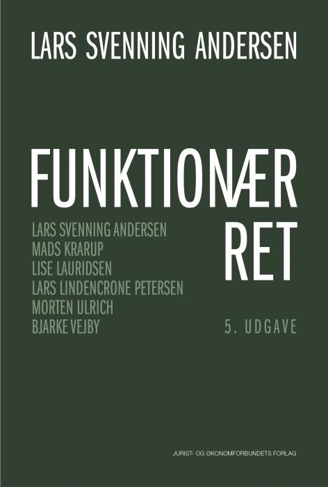 Image of   Funktionærret (Bog)