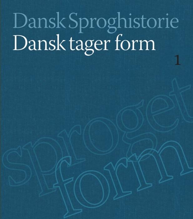 Image of   Dansk tager form (Bog)