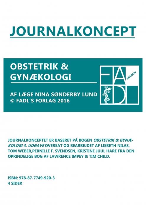 Gynækologisk og obstetrisk journalkoncept (Bog)