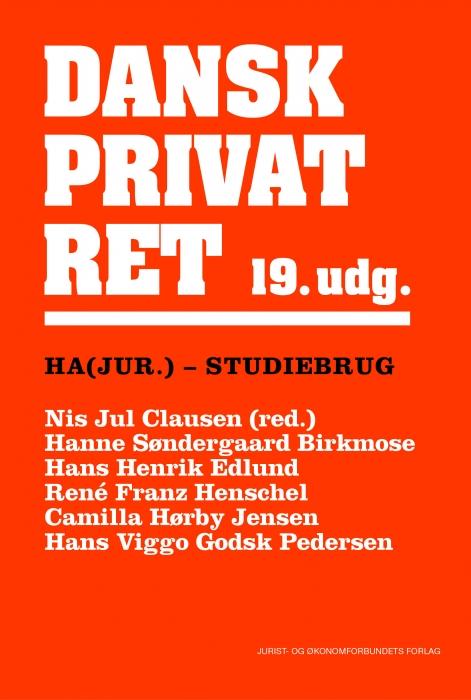 Dansk Privatret HA(jur.) (Bog)