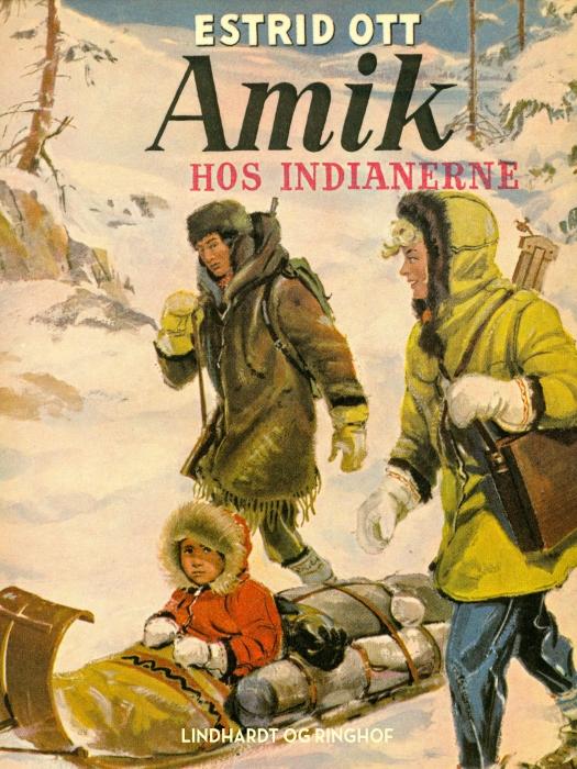 Image of   Amik hos indianerne (E-bog)
