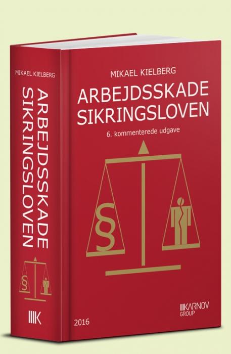 Image of   Arbejdsskadesikringsloven (Bog)