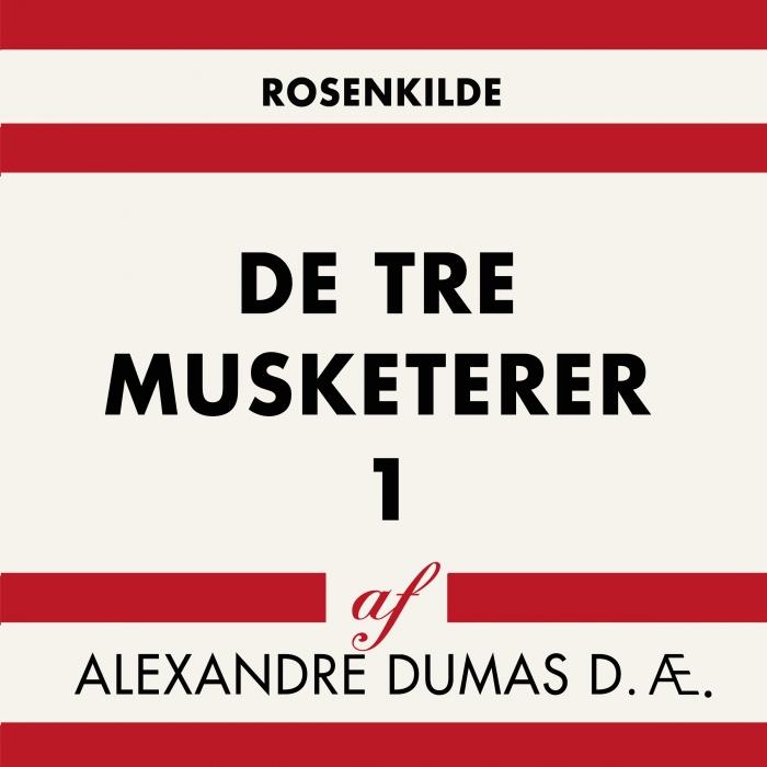 Image of De tre musketerer 1 (Lydbog)