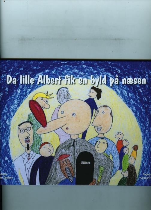 Image of   Da lille Albert fik en byld på næsen (Bog)