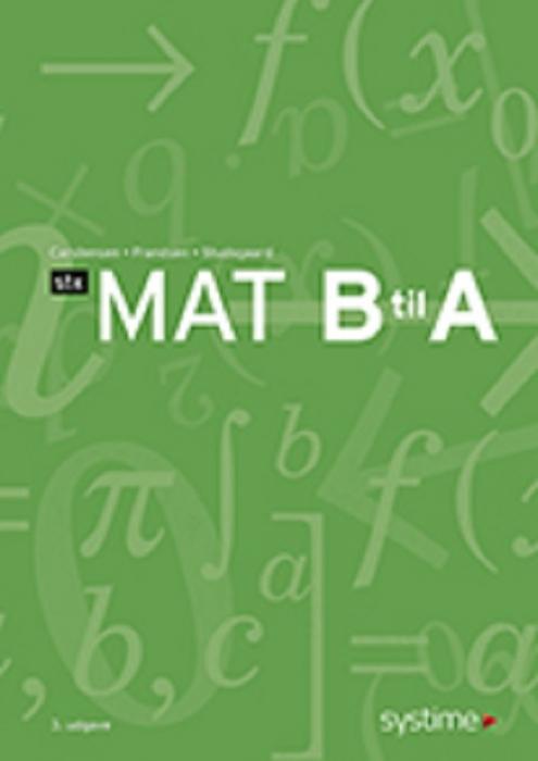 Mat B til A - STX (Bog)