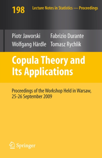 copula theory an introduction Introduction since their introduction in the early 50's, copulas have gained considerable popularity in several fields of applied mathematics, such as finance, insurance and reliability theory today, they represent a well-recognized tool for market and credit models, aggregation of risks, portfolio selection, etc.