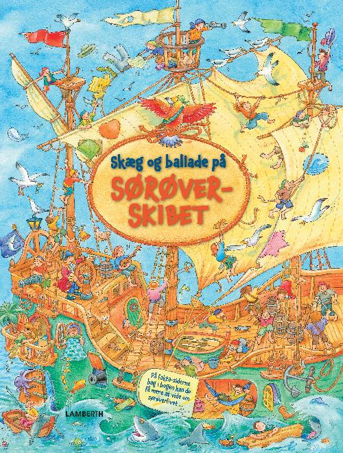Skæg og ballade på sørøverskibet (Bog)