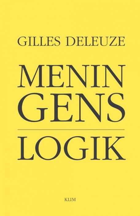 Meningens logik (Bog)