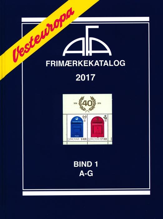 Image of   AFA Vesteuropa 2017 Bind 1 (Bog)