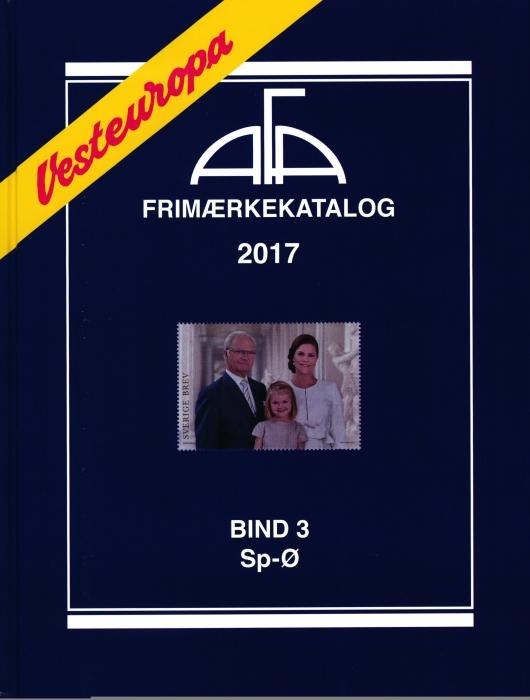 Image of   AFA Vesteuropa 2017 Bind 3 (Bog)