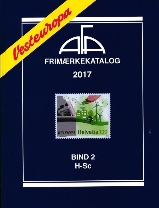 Image of   AFA Vesteuropa 2017 Bind 2 (Bog)