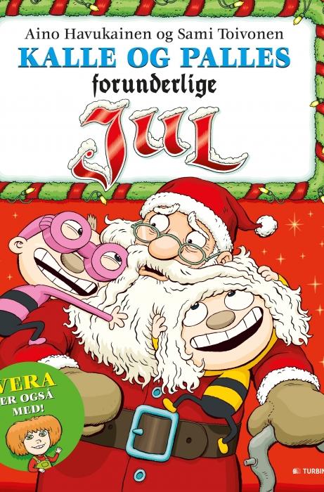 Image of Kalle og Palles forunderlige jul (Bog)