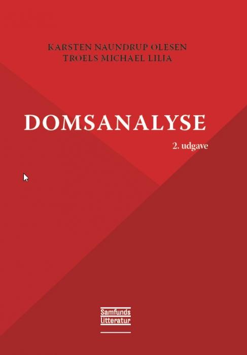 Domsanalyse (E-bog)