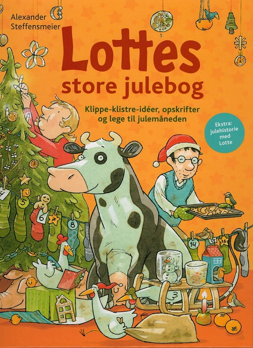 Image of Lottes store julebog (Bog)