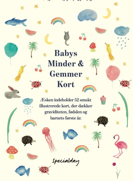 Babys Minder & Gemmer Kort Display med 6 pakker (Bog)