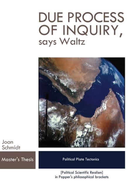 Due Process of Inquiry, says Waltz (Bog)