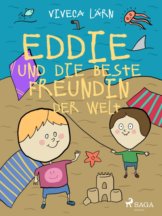 Image of   Eddie und die beste Freundin der Welt (Lydbog)