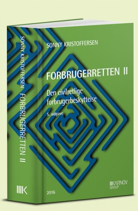 Image of   Forbrugerretten II (Bog)
