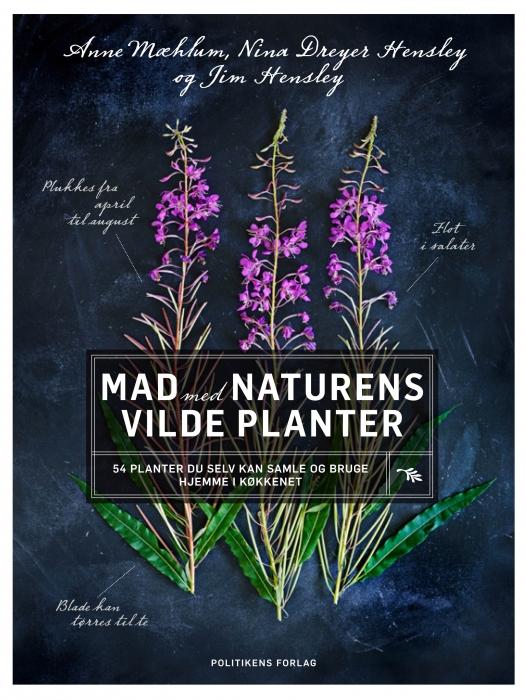 Mad med naturens vilde planter (Bog)