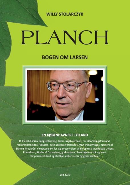 Planch - Bogen om Larsen (Bog)