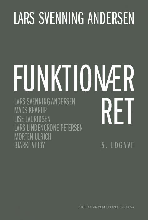 Image of   Funktionærret (E-bog)