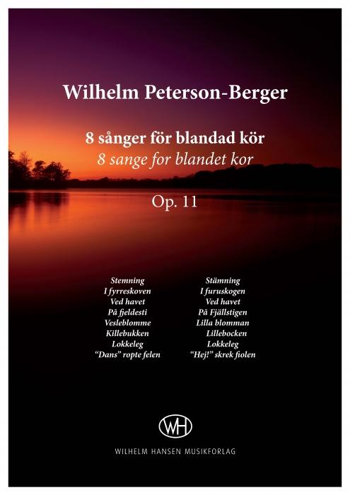Image of   8 sånger för blandad kör, Op. 11 (E-bog)