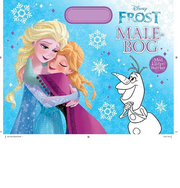 Disney malebog med håndtag Frost (Bog)